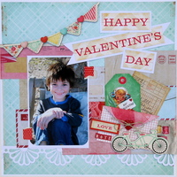Happy Valentines Day - My Creative Scrapbook Dt-