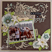 Sugar and Erin {Memory Box}