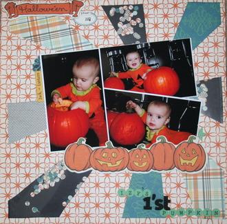 First Pumpkin