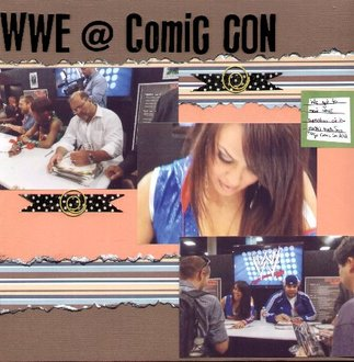 WWE @ Comic Con