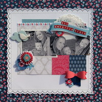 All American Girls *My Creative Scrapbook*