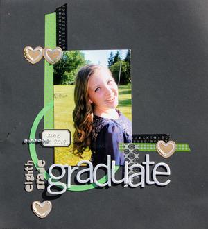 eighth grade graduate