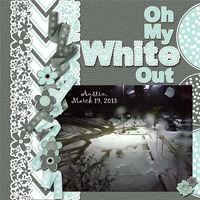 Oh My, White Out