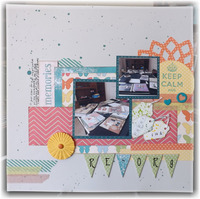 Scrapbook Re-Org