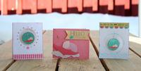 Trio of baby cards *Moxxie*