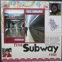 First Subway Ride