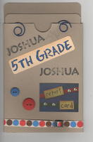5th Grade Report Card Pocket