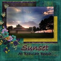 Sunset at Beulah Beach