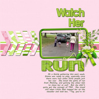 Watch her Run