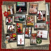 Roger's Christmas Antics