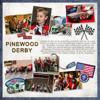 Pinewood Derby - January 2013