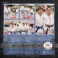Belt Grading Day