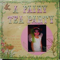 a fairy tea party