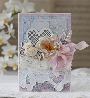 shabby card for Blue Fern Studios