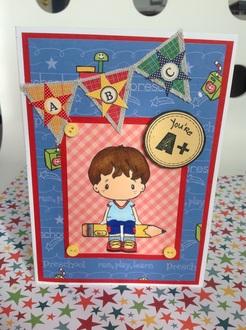 Card for Preschool Teacher