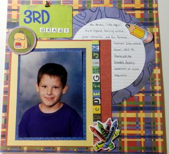 3rd grade Jonathan