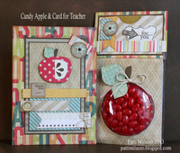 Candy Apple & Card for Teacher