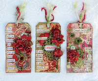 Tags with a message (Chipboard)