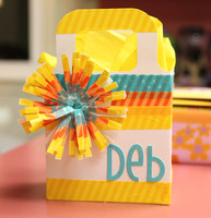 Washi Tape Mini Gift Bag