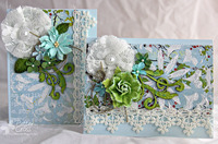 Lace Card Pair