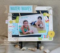Beach Chalkboard Frame