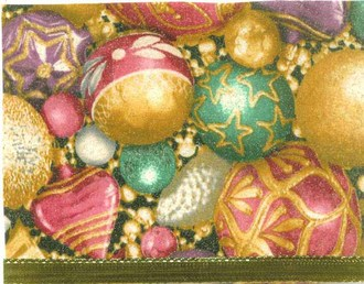 Fabric Holiday Cards