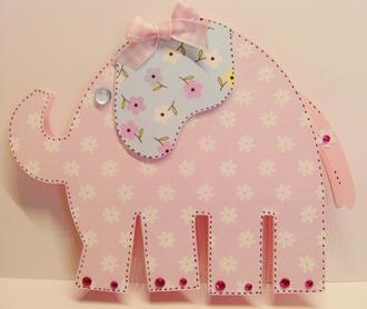 Elephant baby card...