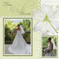 your bride awaits