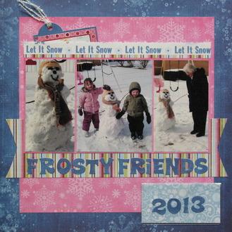 Frosty Friends 2013