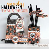 Spooky Halloween Table Decor