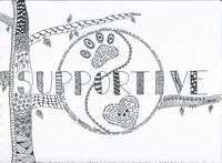 Zentangle - Doodle Art - Supportive
