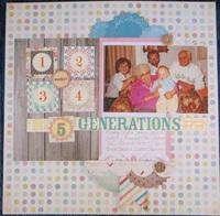 5 Sweet Generations
