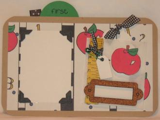 School Days Lunchbox Paper Piecing