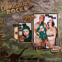 Dinosaurs Rock **Paper House**