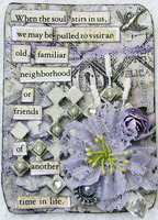 The Soul In Love series of ATC's 3 of 3