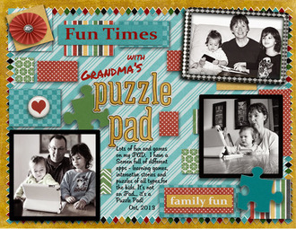 Grandma's Puzzle Pad