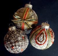 Washi Tape and Ephemera Ornaments