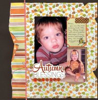 Autumn Blessings (Ad Challenge)