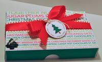 christmas pizza box gift set