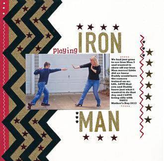 Playing IRON MAN