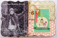 Handmade Book, December Pages