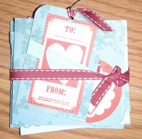 Christmas Card set - Blue