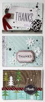 Winter Thank You Cards *Pebbles*