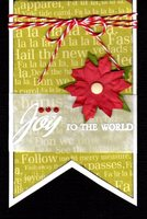 Joy To The World Tag (Card/Tag Challenge)