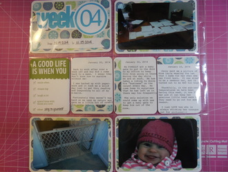 2014 Project Life - Week 4