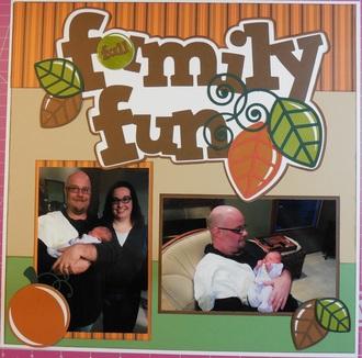 Baby's First Year Album - Fall Family Fun