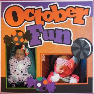 Baby's First Year Album - October Fun