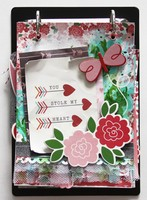 """You Stole My Heart"" Clipboard Mini *Pebbles*"