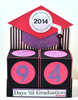 graduation count down blocks