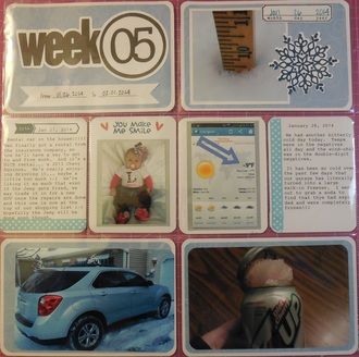 2014 Project Life - Week 5